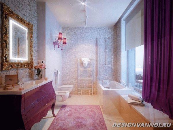 идеи дизайна ванной комнаты фото - 1