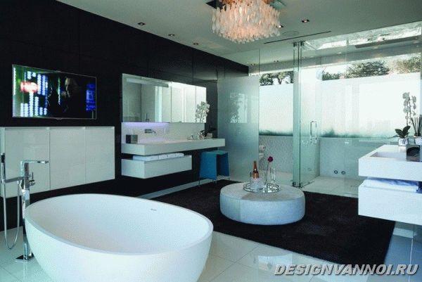 идеи дизайна ванной комнаты фото - 12
