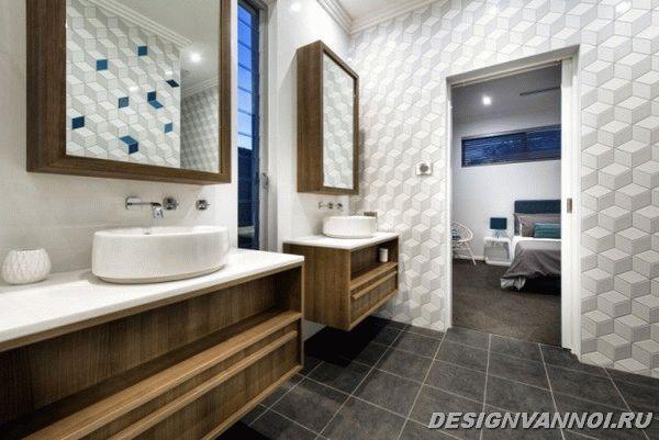 идеи дизайна ванной комнаты фото - 13