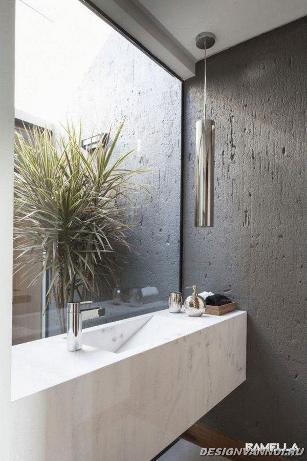 идеи дизайна ванной комнаты фото - 16