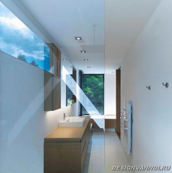идеи дизайна ванной комнаты фото - 17