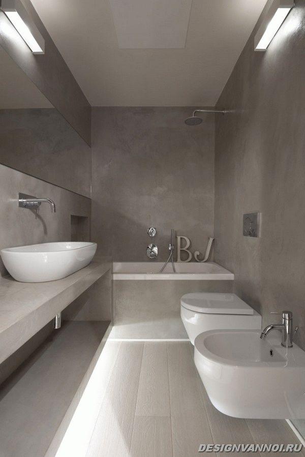 идеи дизайна ванной комнаты фото - 18