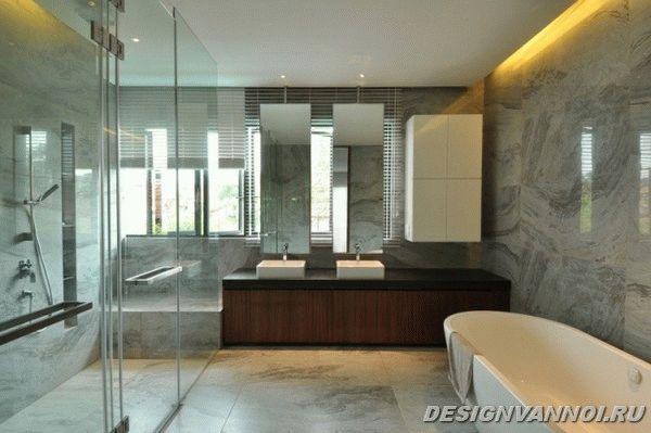идеи дизайна ванной комнаты фото - 19
