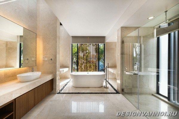 идеи дизайна ванной комнаты фото - 21
