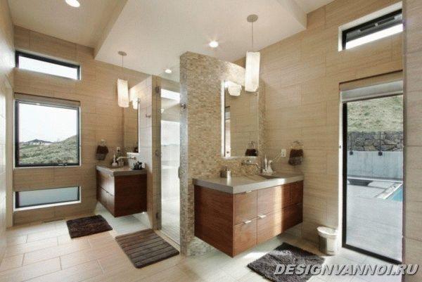 идеи дизайна ванной комнаты фото - 23