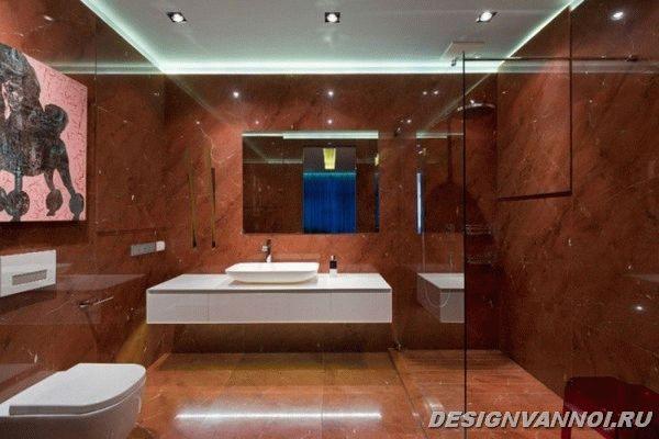 идеи дизайна ванной комнаты фото - 25