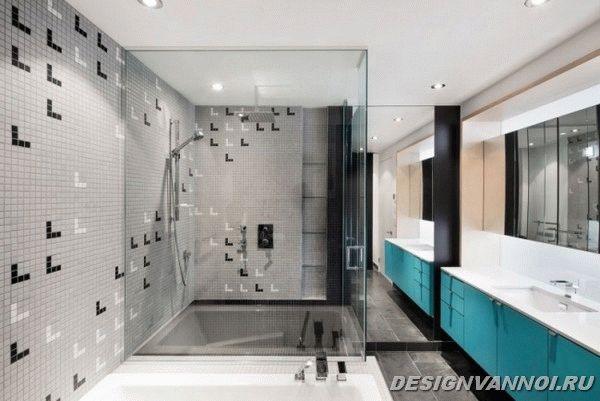 идеи дизайна ванной комнаты фото - 29