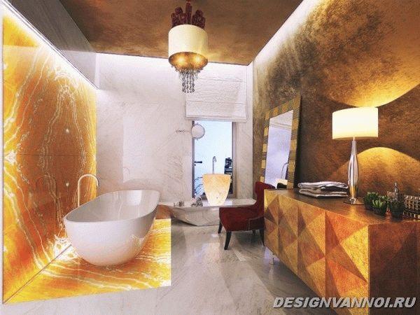 идеи дизайна ванной комнаты фото - 3