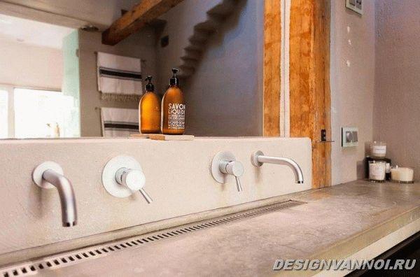 идеи дизайна ванной комнаты фото - 33