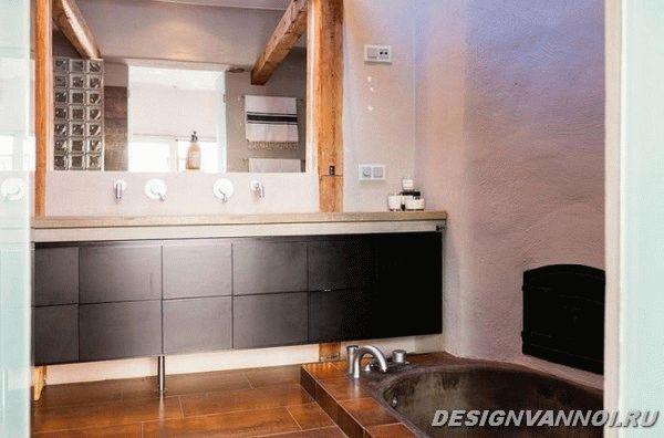 идеи дизайна ванной комнаты фото - 34