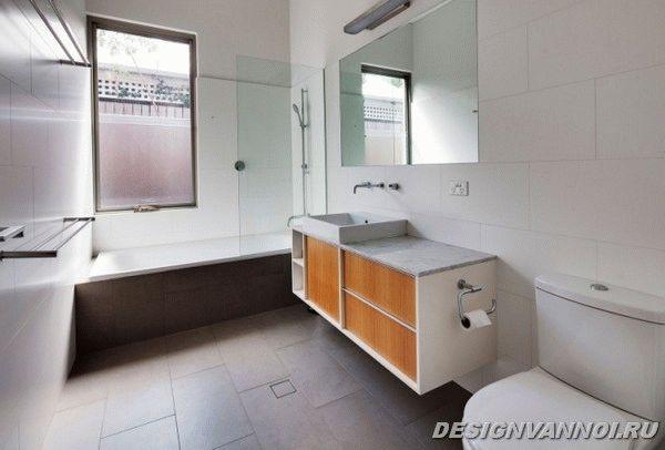 идеи дизайна ванной комнаты фото - 36