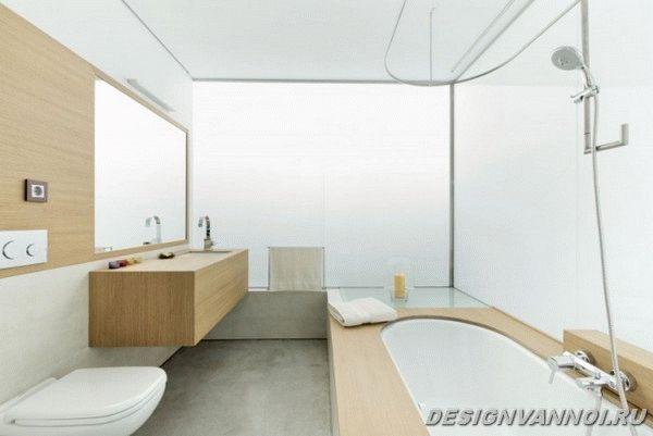 идеи дизайна ванной комнаты фото - 37