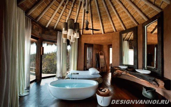 идеи дизайна ванной комнаты фото - 38