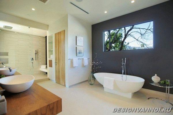 идеи дизайна ванной комнаты фото - 39
