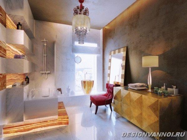 идеи дизайна ванной комнаты фото - 4