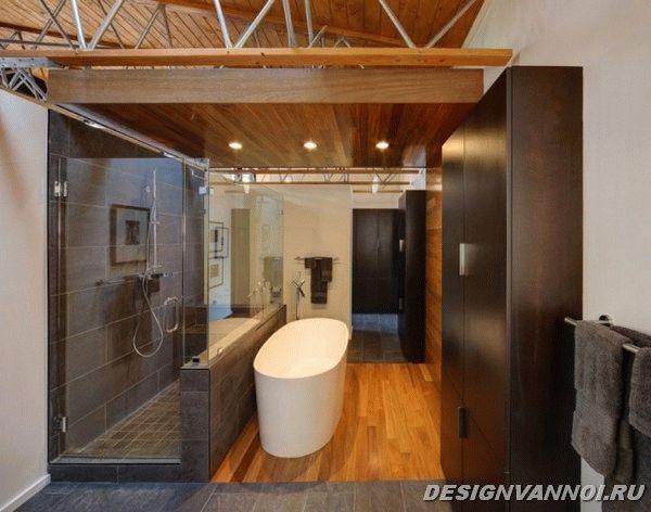 идеи дизайна ванной комнаты фото - 40