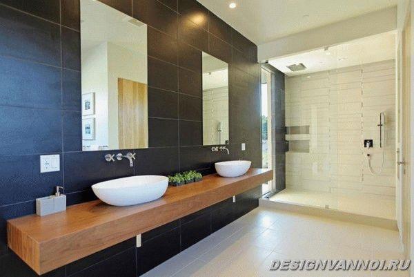 идеи дизайна ванной комнаты фото - 42