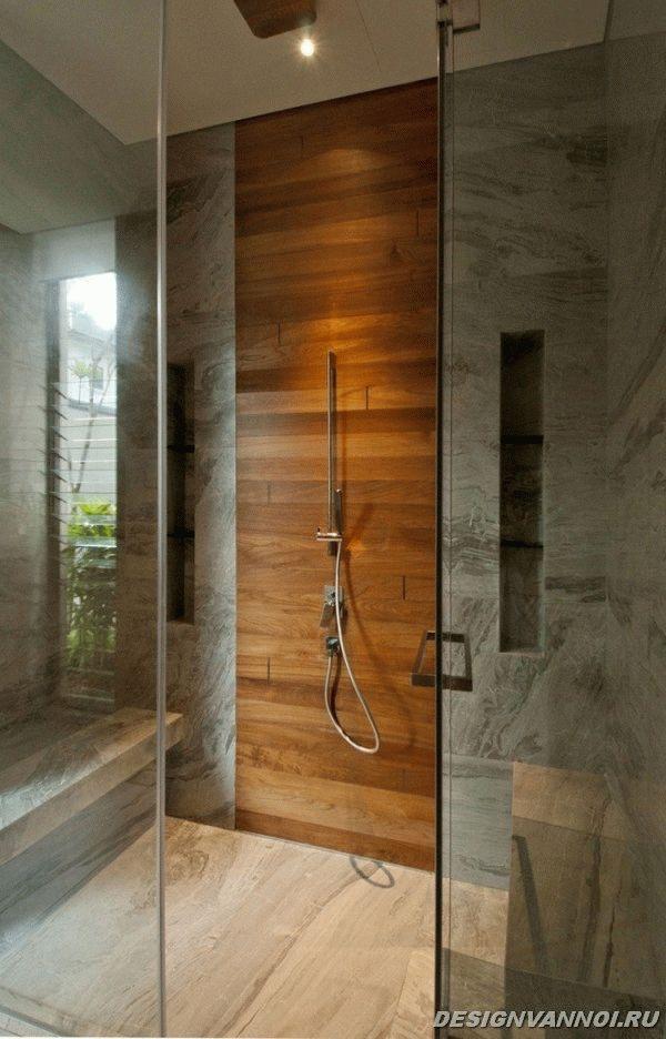 идеи дизайна ванной комнаты фото - 43