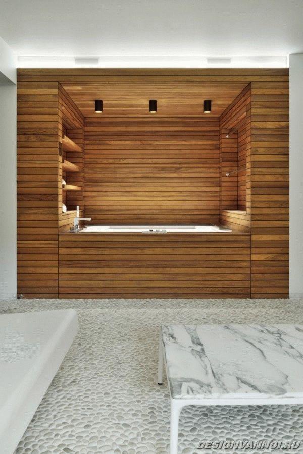 идеи дизайна ванной комнаты фото - 45