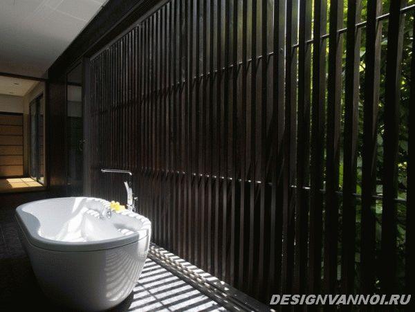 идеи дизайна ванной комнаты фото - 47