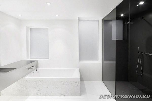 идеи дизайна ванной комнаты фото - 48