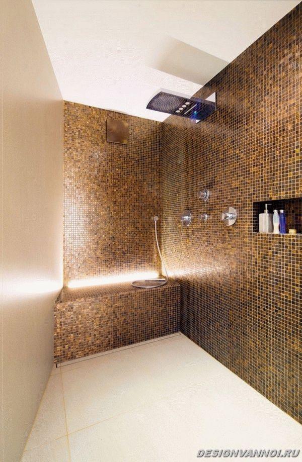 идеи дизайна ванной комнаты фото - 52