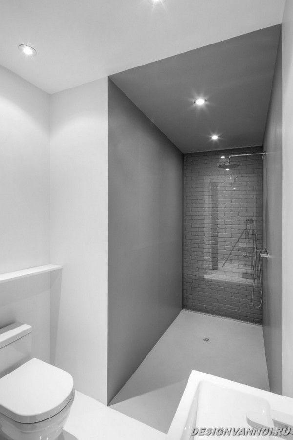 идеи дизайна ванной комнаты фото - 54
