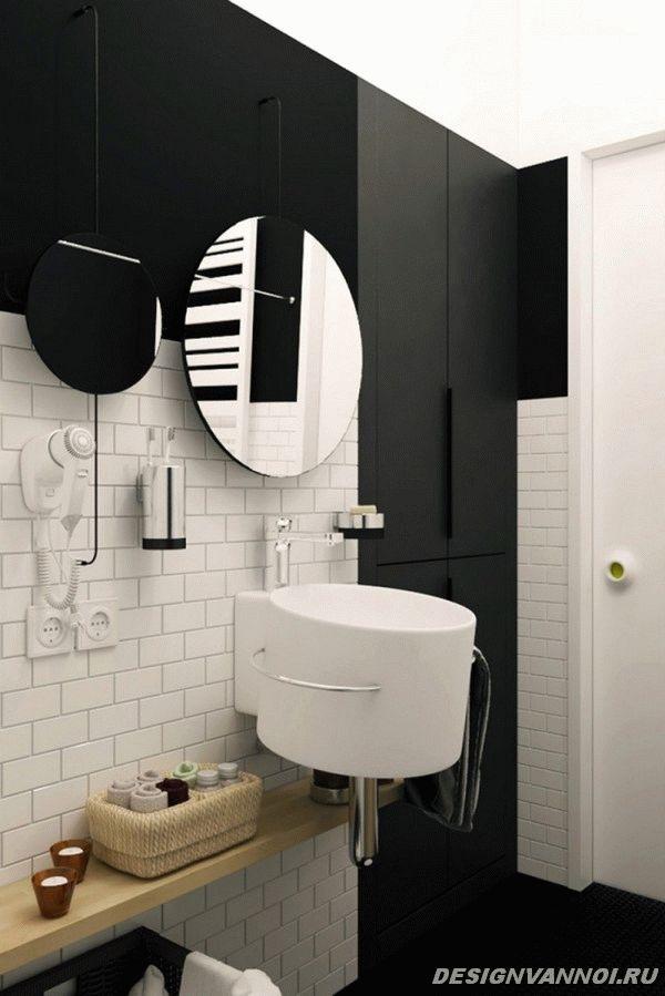 идеи дизайна ванной комнаты фото - 55