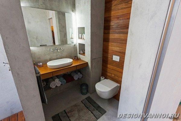 идеи дизайна ванной комнаты фото - 56