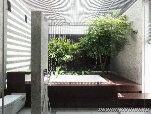 идеи дизайна ванной комнаты фото - 57