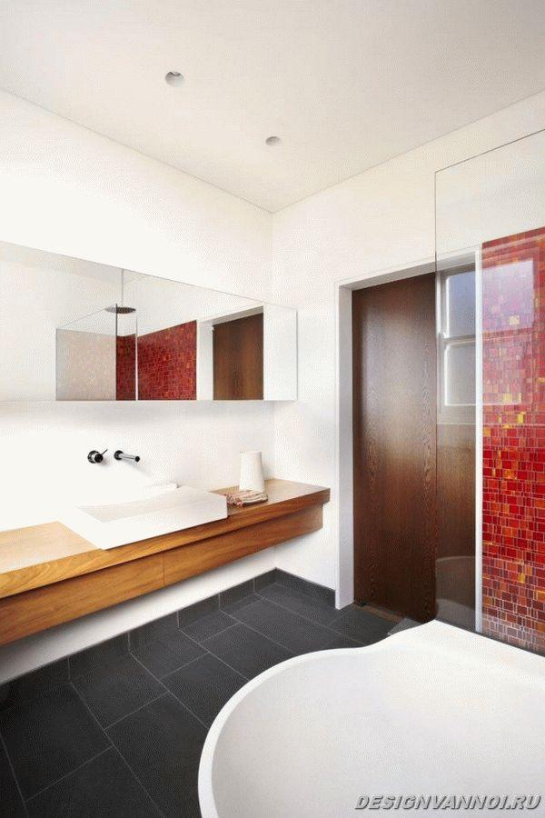 идеи дизайна ванной комнаты фото - 60