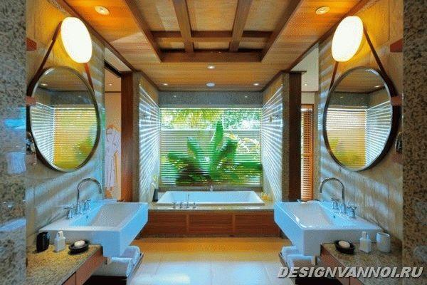 идеи дизайна ванной комнаты фото - 61