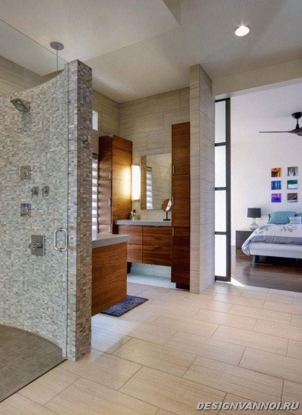 идеи дизайна ванной комнаты фото - 63