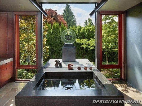 идеи дизайна ванной комнаты фото - 64