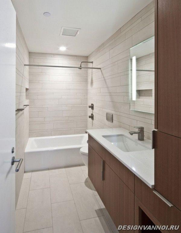 идеи дизайна ванной комнаты фото - 66