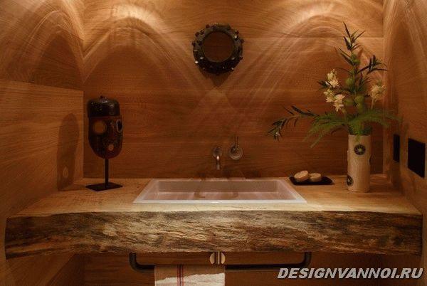 идеи дизайна ванной комнаты фото - 67