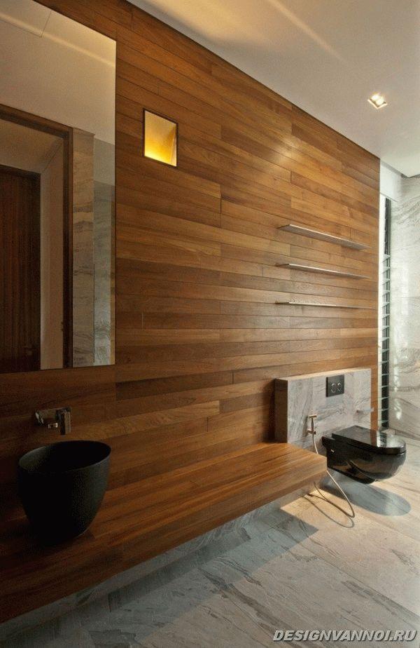 идеи дизайна ванной комнаты фото - 76