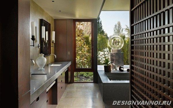 идеи дизайна ванной комнаты фото - 78