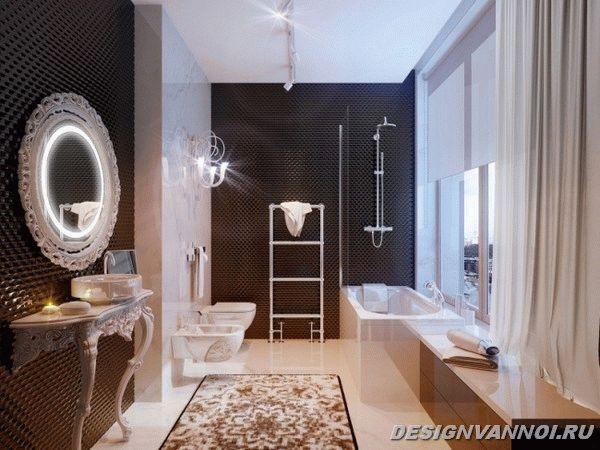 идеи дизайна ванной комнаты фото - 8
