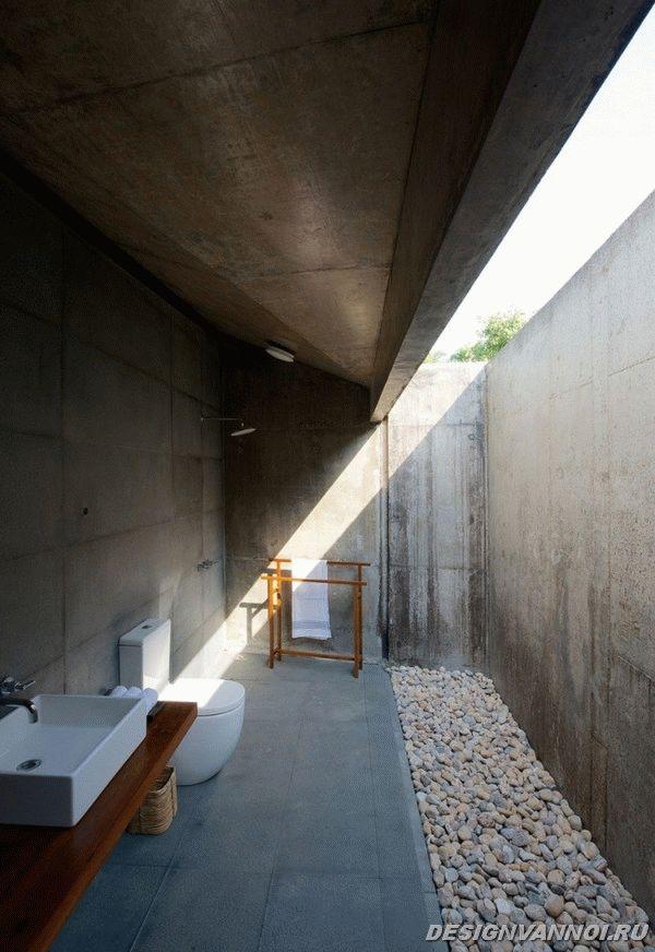 идеи дизайна ванной комнаты фото - 80