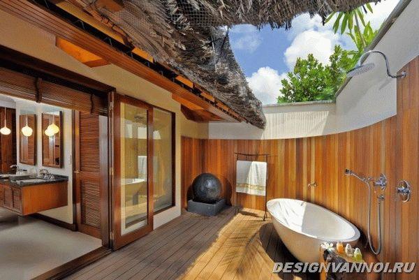идеи дизайна ванной комнаты фото - 81