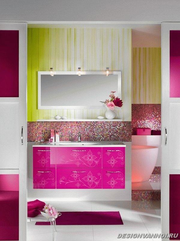 модные цвета в ванной комнате в 2014 году - 6