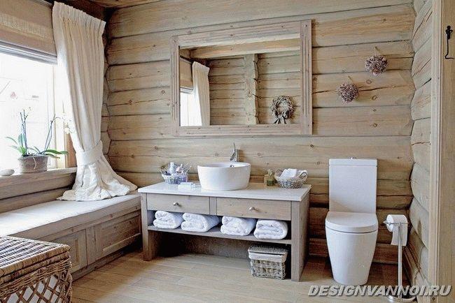 ванная кантри фото