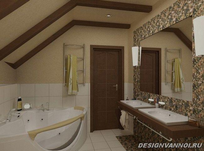 фото ванной в стиле кантри