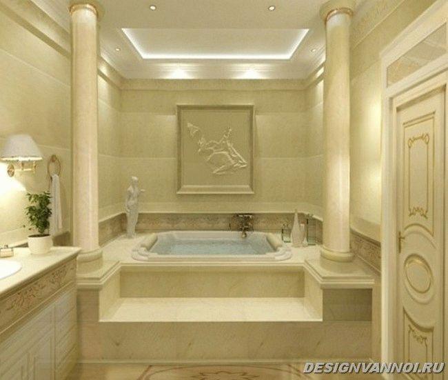 фото ванной в классическом стиле
