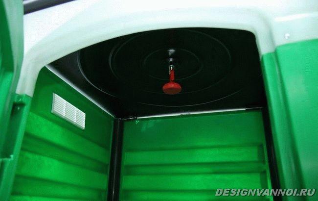 кабина из пластика для дачного душа