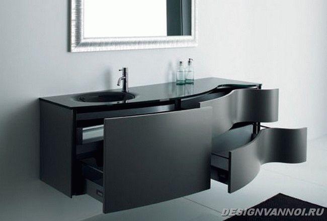 мебель для маленькой ванной комнаты