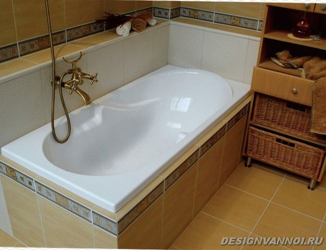 ванна из акрила