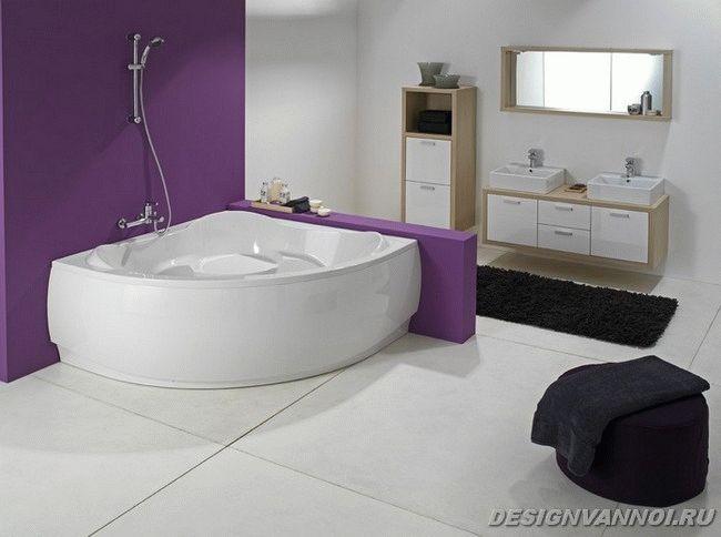 квариловая ванны
