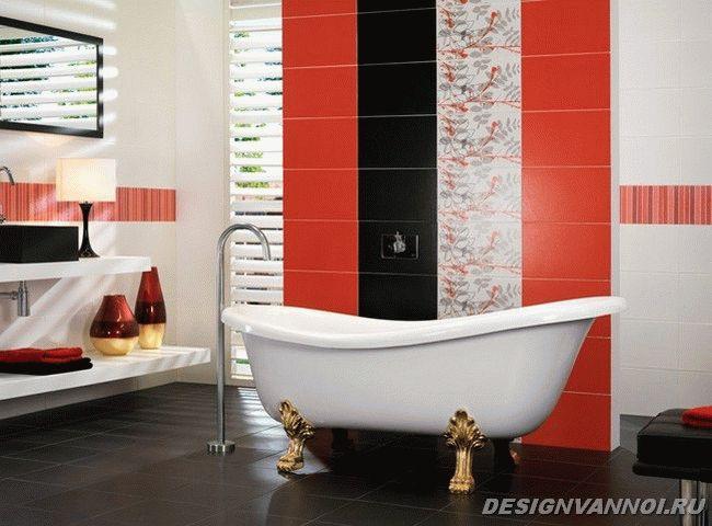 фото керамическая плитка в ванную